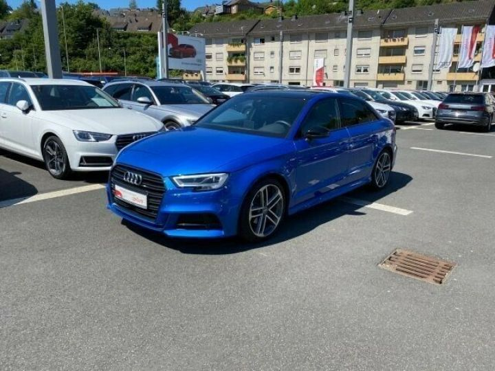Audi A3 Berline 35 TFSI 150 TOIT PANO LED COCKPIT VIRTUEL 18' Bleu - 1