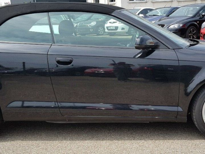 Audi A3 Cabriolet 1.8 TFSI 160 CV STRONIC (07/2011) noir métal - 3