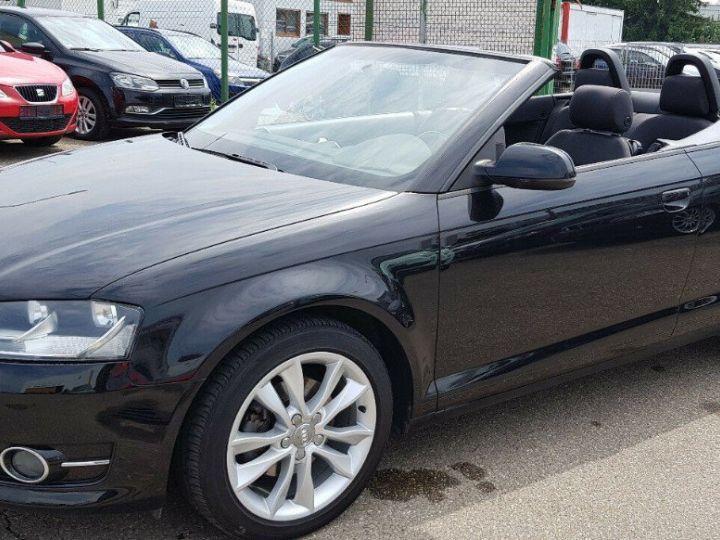 Audi A3 Cabriolet 1.8 TFSI 160 CV STRONIC (07/2011) noir métal - 10