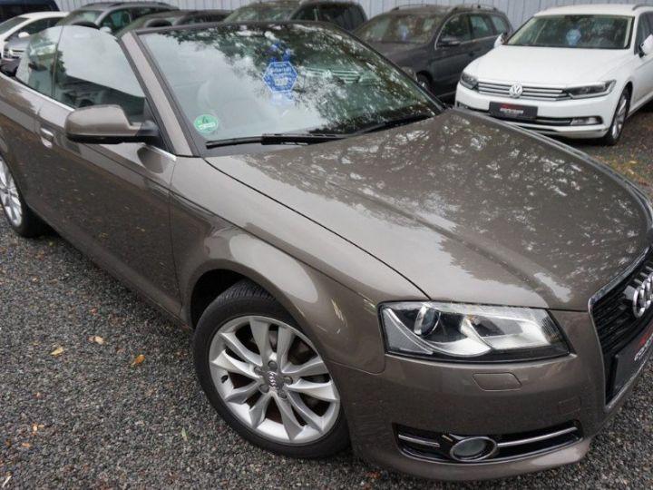 Audi A3 Cabriolet 2.0 TDI 140 DPF AMBITION LUXE (2013) brun métal - 2