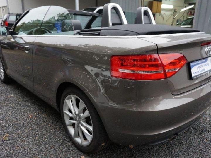Audi A3 Cabriolet 2.0 TDI 140 DPF AMBITION LUXE (2013) brun métal - 6