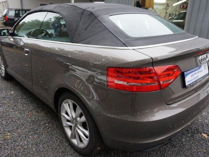 Audi A3 Cabriolet 2.0 TDI 140 DPF AMBITION LUXE (2013) brun métal - 7