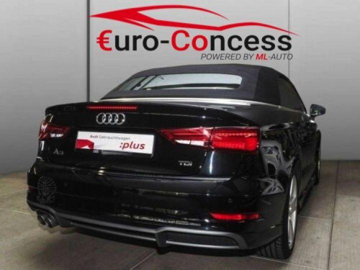 Audi A3 Cabriolet 2.0 TDI S tronic S line NOIR  - 2