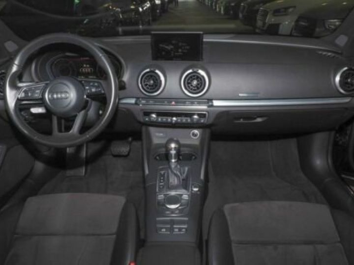 Audi A3 Cabriolet 2.0 TDI S tronic S line NOIR  - 9