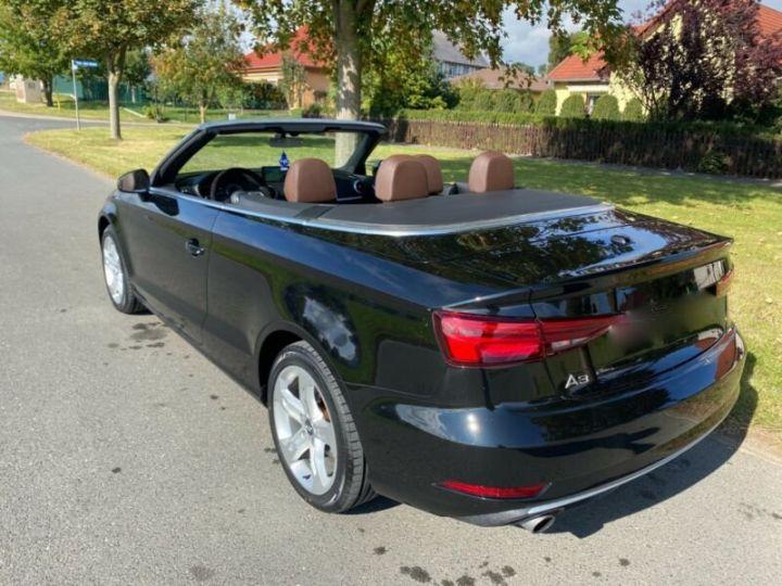Audi A3 Cabriolet 2.0 TFSI quattro S tronic sport Cabrio Noir Peinture métallisée - 3