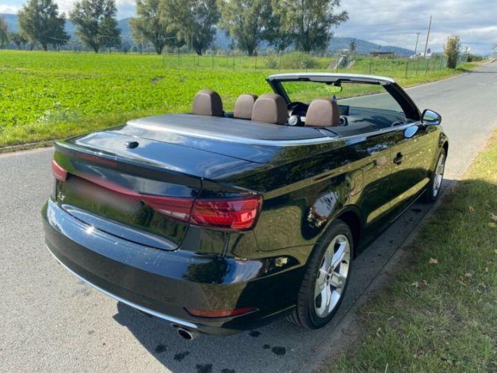 Audi A3 Cabriolet 2.0 TFSI quattro S tronic sport Cabrio Noir Peinture métallisée - 4