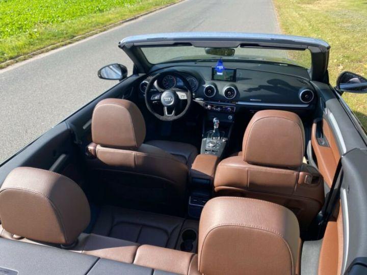 Audi A3 Cabriolet 2.0 TFSI quattro S tronic sport Cabrio Noir Peinture métallisée - 5