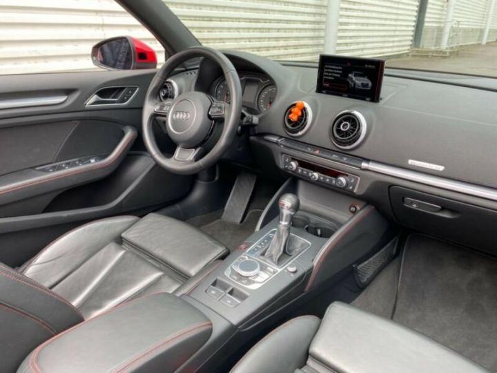Audi A3 Cabriolet 2.0 TFSI quattro S tronic Sport Cabrio *Livraison & garantie 12 mois* Rouge - 5