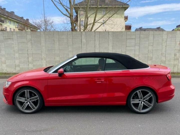 Audi A3 Cabriolet 2.0 TFSI quattro S tronic Sport Cabrio *Livraison & garantie 12 mois* Rouge - 9