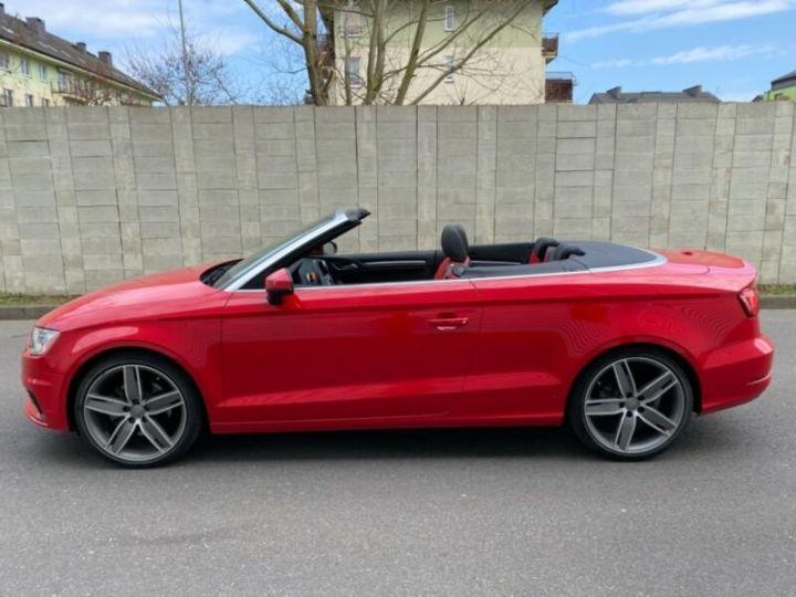 Audi A3 Cabriolet 2.0 TFSI quattro S tronic Sport Cabrio *Livraison & garantie 12 mois* Rouge - 10