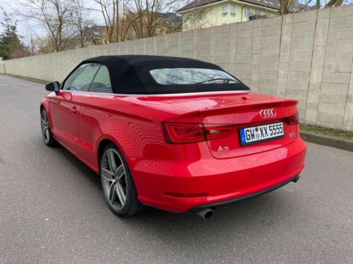 Audi A3 Cabriolet 2.0 TFSI quattro S tronic Sport Cabrio *Livraison & garantie 12 mois* Rouge - 12