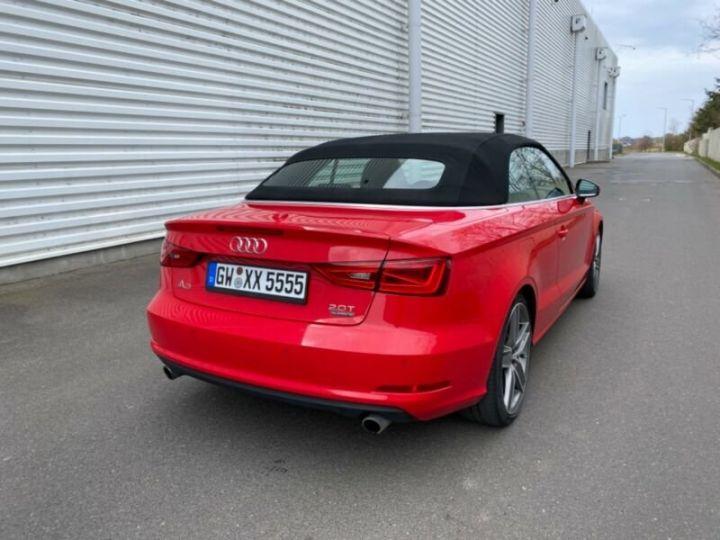 Audi A3 Cabriolet 2.0 TFSI quattro S tronic Sport Cabrio *Livraison & garantie 12 mois* Rouge - 14