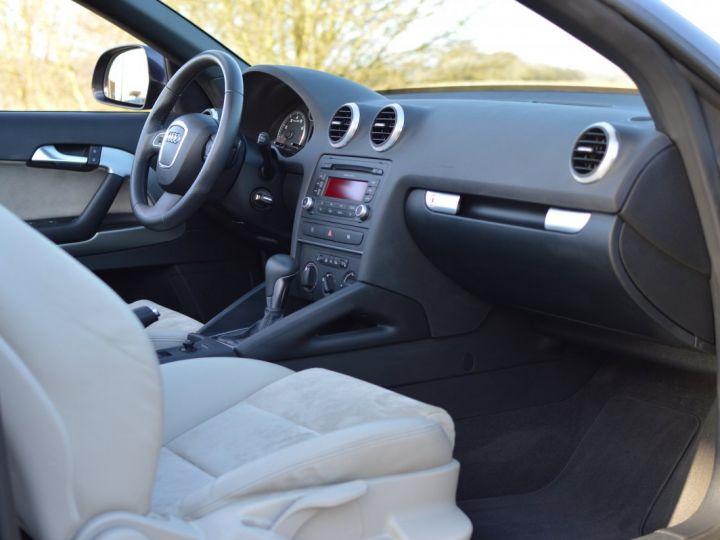 Audi A3 Cabriolet AUDI A3 1.8 TFSI 160CH STRONIC 7 CABRIOLET 1ère main CUIR ALCANTARA EXCELLENT ÉTAT 30000KMS GRIS FONCE - 11