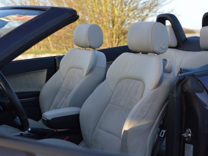 Audi A3 Cabriolet AUDI A3 1.8 TFSI 160CH STRONIC 7 CABRIOLET 1ère main CUIR ALCANTARA EXCELLENT ÉTAT 30000KMS GRIS FONCE - 12