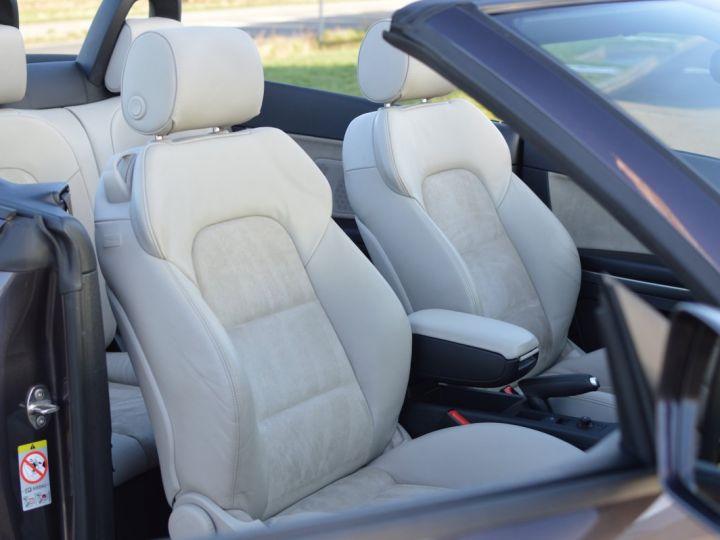 Audi A3 Cabriolet AUDI A3 1.8 TFSI 160CH STRONIC 7 CABRIOLET 1ère main CUIR ALCANTARA EXCELLENT ÉTAT 30000KMS GRIS FONCE - 13