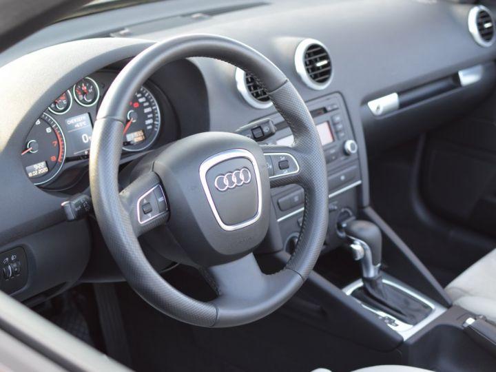 Audi A3 Cabriolet AUDI A3 1.8 TFSI 160CH STRONIC 7 CABRIOLET 1ère main CUIR ALCANTARA EXCELLENT ÉTAT 30000KMS GRIS FONCE - 15