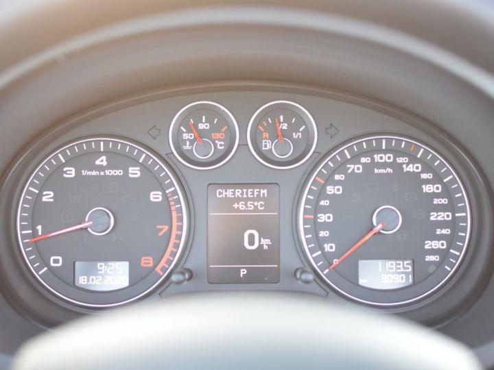 Audi A3 Cabriolet AUDI A3 1.8 TFSI 160CH STRONIC 7 CABRIOLET 1ère main CUIR ALCANTARA EXCELLENT ÉTAT 30000KMS GRIS FONCE - 19