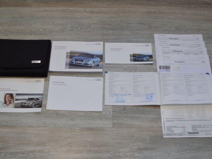 Audi A3 Cabriolet AUDI A3 1.8 TFSI 160CH STRONIC 7 CABRIOLET 1ère main CUIR ALCANTARA EXCELLENT ÉTAT 30000KMS GRIS FONCE - 21