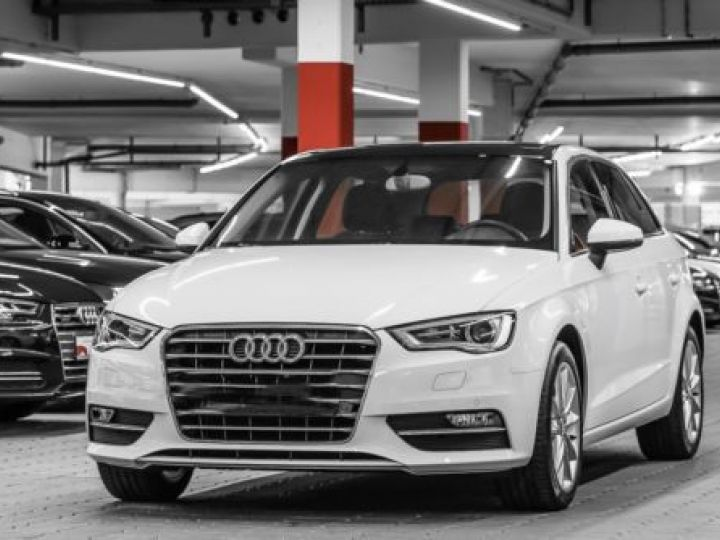 Audi A3 Sportback 1.4 TFSI 150CH ULTRA COD AMBITION LUXE BLANC - 1