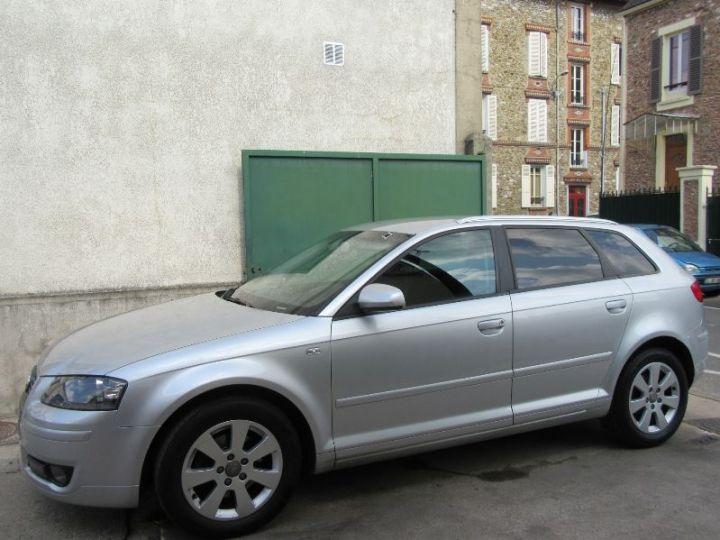 Audi A3 Sportback 2.0 TDI 140CH AMBIENTE S TRONIC GRIS CLAIR Occasion - 5