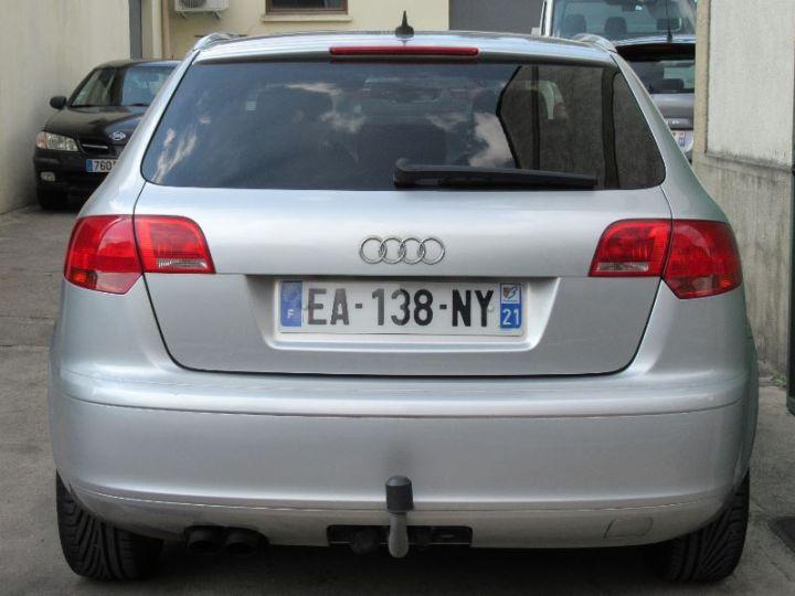 Audi A3 Sportback 2.0 TDI 140CH AMBIENTE S TRONIC GRIS CLAIR Occasion - 8