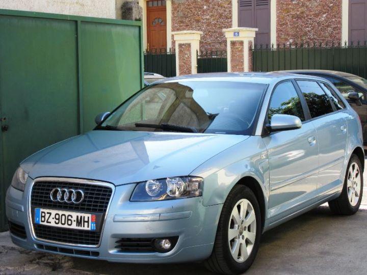 Audi A3 Sportback 2.0 TDI 140CH AMBITION BLEUE Occasion - 1
