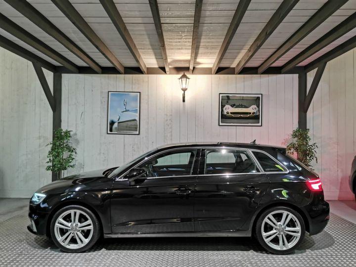 Audi A3 Sportback 2.0 TDI 150 CV SLINE BVA Noir - 1