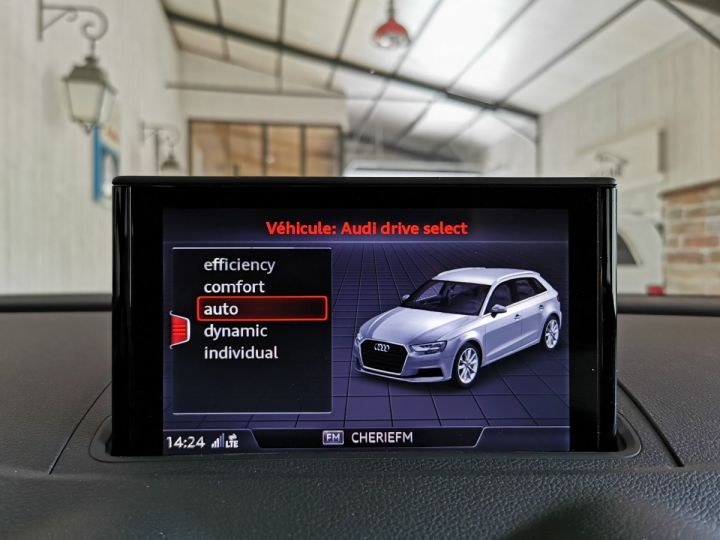 Audi A3 Sportback 2.0 TDI 150 CV SLINE BVA Noir - 11