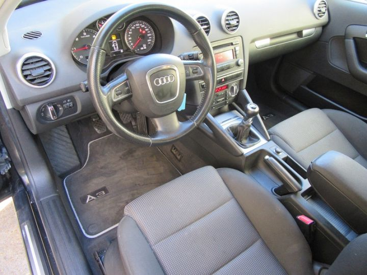 Audi A3 Sportback 2.0 TDI 170CH DPF START/STOP AMBITION NOIR Occasion - 2