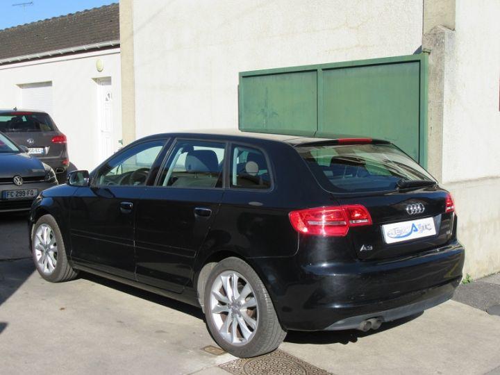 Audi A3 Sportback 2.0 TDI 170CH DPF START/STOP AMBITION NOIR Occasion - 3