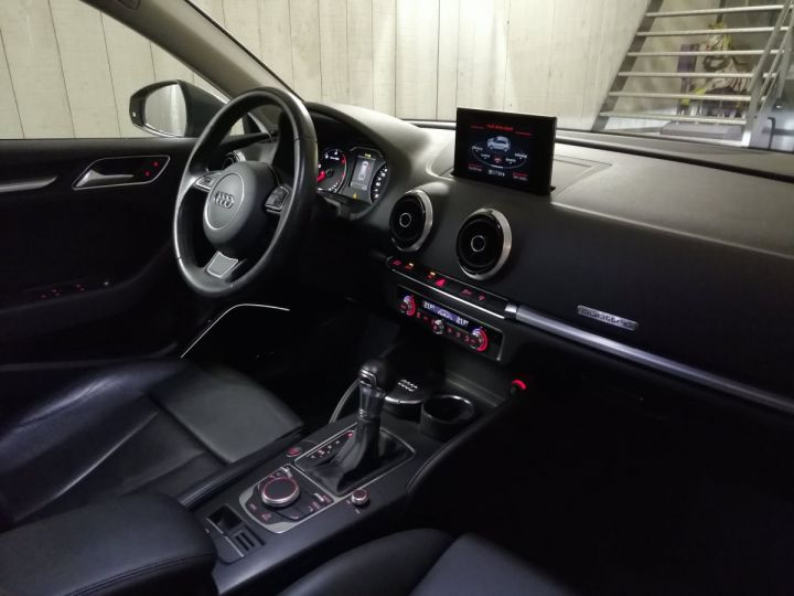 Audi A3 Sportback 2.0 TDI 184 CV DESIGN LUXE QUATTRO BVA Gris - 7