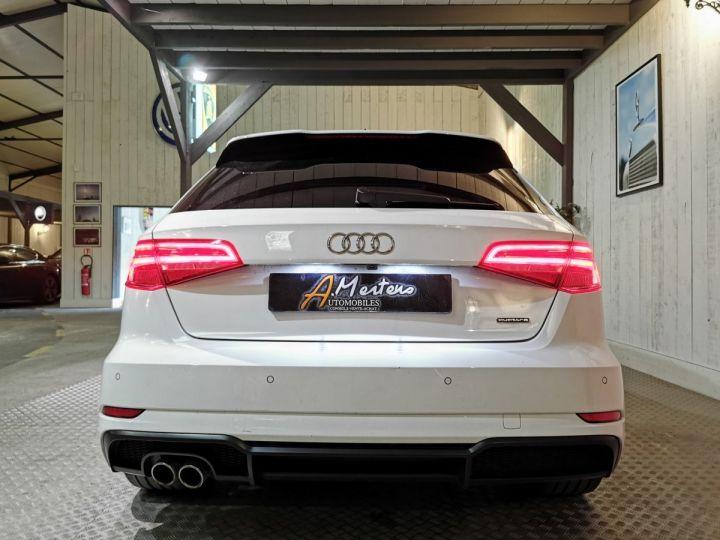 Audi A3 Sportback 2.0 TDI 184 CV DESIGN LUXE QUATTRO STRONIC Blanc - 4