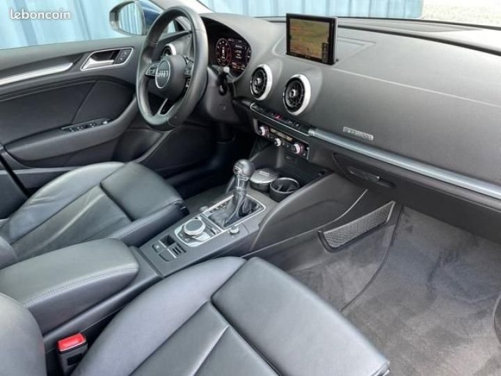 Audi A3 Sportback 2.0 tfsi 190 quattro s tronic design luxe Bleu - 3