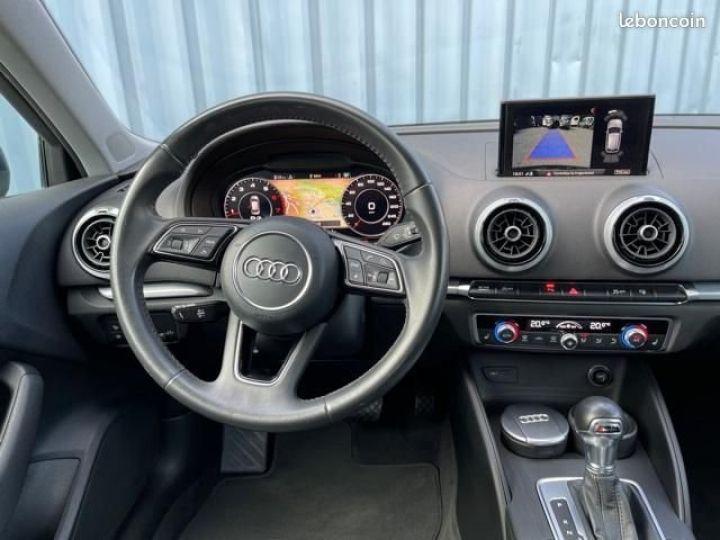 Audi A3 Sportback 2.0 tfsi 190 quattro s tronic design luxe Bleu - 4