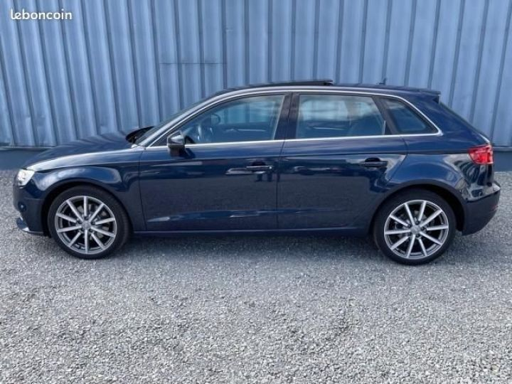 Audi A3 Sportback 2.0 tfsi 190 quattro s tronic design luxe Bleu - 6