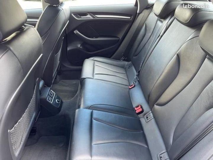 Audi A3 Sportback 2.0 tfsi 190 quattro s tronic design luxe Bleu - 8