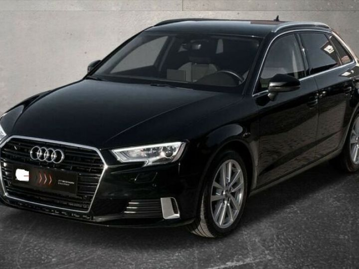Audi A3 Sportback # 30 SPORT Bi-XENON*NAVI*GRA*PDC* Noir Peinture métallisée - 1