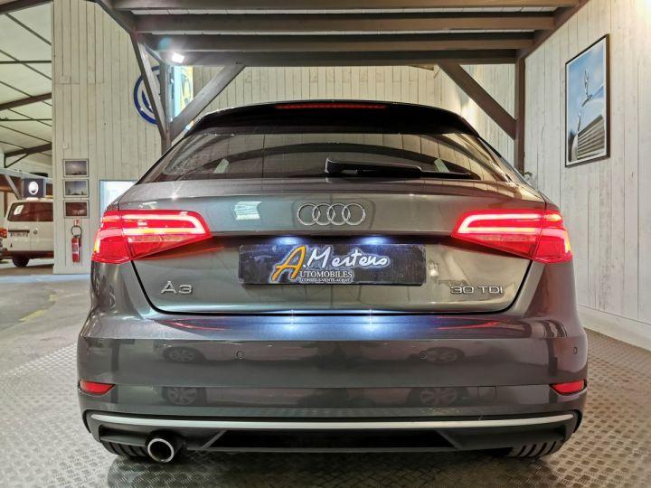 Audi A3 Sportback 30 TDI 116 CV SLINE BV6 Gris - 4