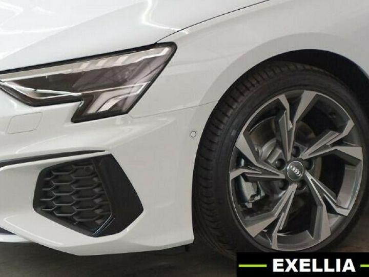 Audi A3 Sportback 35 TDI S Line S Tronic BLANC PEINTURE METALISE  Occasion - 5
