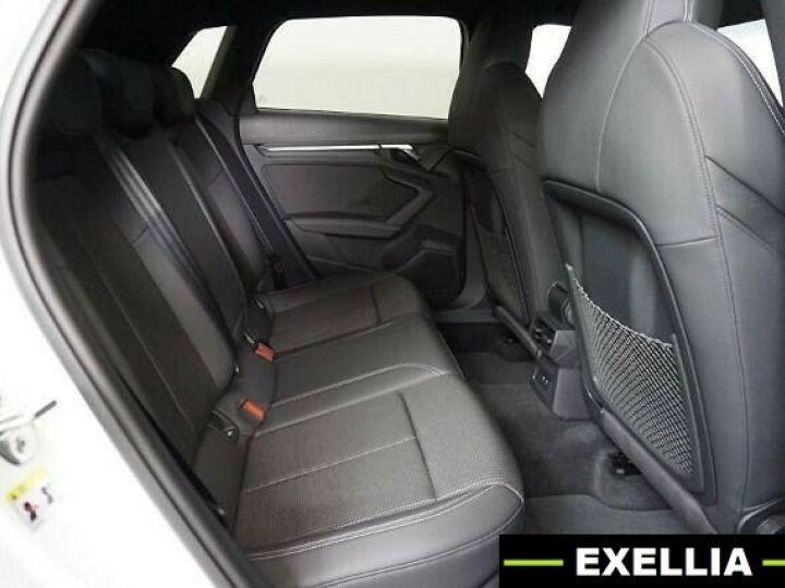 Audi A3 Sportback 35 TDI S Line S Tronic BLANC PEINTURE METALISE  Occasion - 7