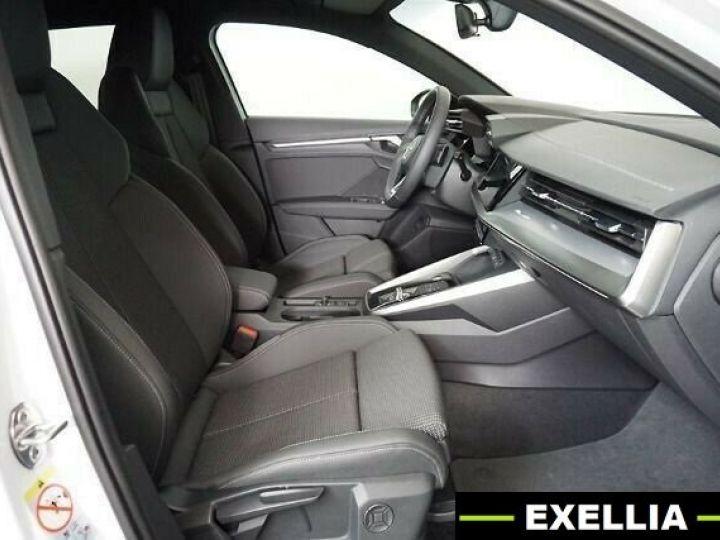 Audi A3 Sportback 35 TDI S Line S Tronic BLANC PEINTURE METALISE  Occasion - 8
