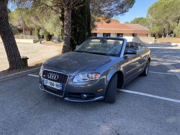 Audi A4 2.0 TFSI 180CH S LINE Gris - 6