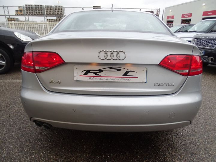 Audi A4 2.0L TDI 143Ps PACK SPORT GPS LED Drive select PDC Bi xenon Cd  argent met - 8