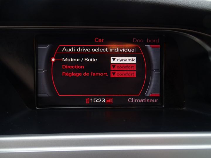 Audi A4 2.0L TDI 143Ps PACK SPORT GPS LED Drive select PDC Bi xenon Cd  argent met - 12