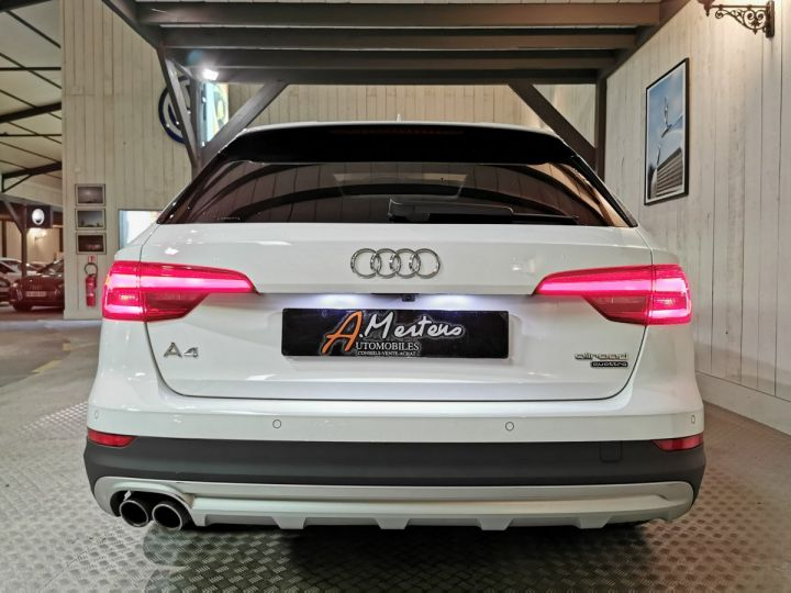 Audi A4 Allroad 2.0 TDI 190 CV DESIGN LUXE BVA Blanc - 4