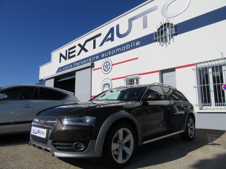 Audi A4 Allroad 2.0 TDI 190CH CLEAN DIESEL AMBITION LUXE QUATTRO S TRONIC 7 EURO6 MARRON Occasion - 1