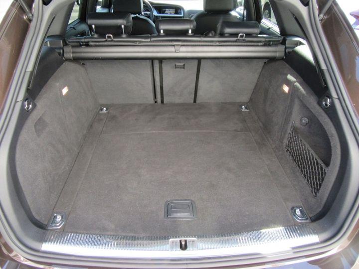 Audi A4 Allroad 2.0 TDI 190CH CLEAN DIESEL AMBITION LUXE QUATTRO S TRONIC 7 EURO6 MARRON Occasion - 11