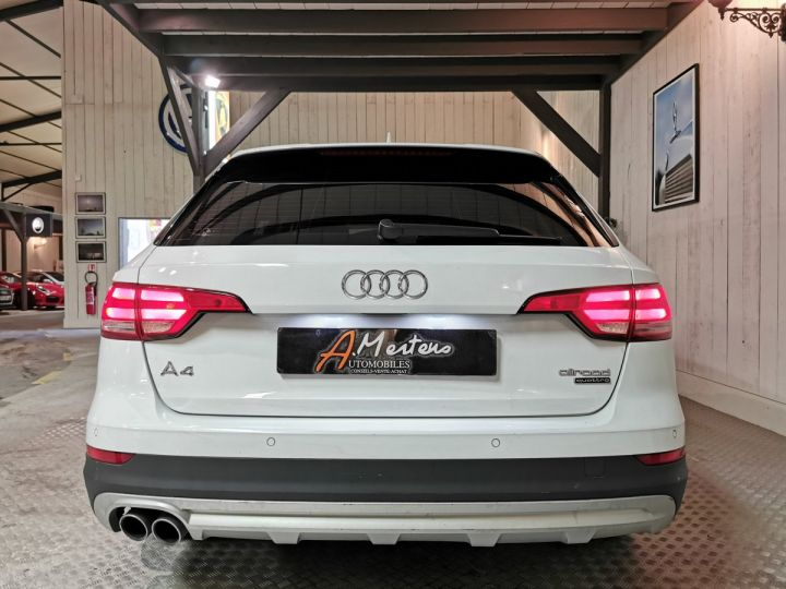 Audi A4 Allroad 3.0 TDI 218 CV DESIGN LUXE QUATTRO BVA Blanc - 4