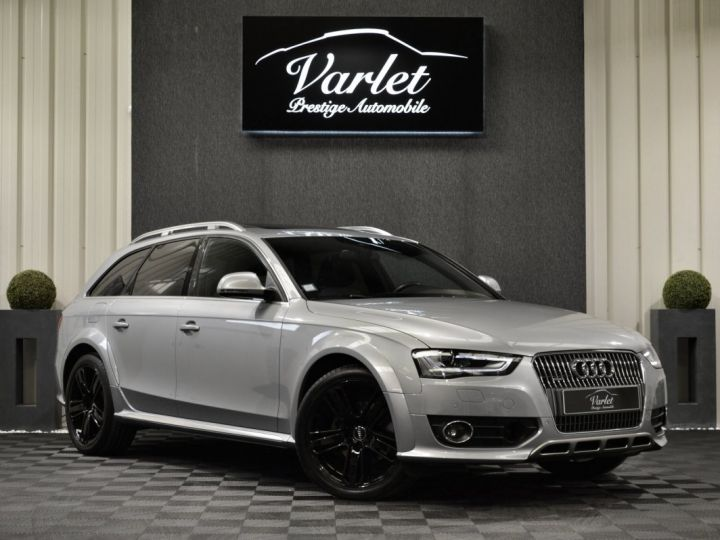 Audi A4 Allroad Superbe 2.0 tdi 190ch quattro stronic full options acc b&o 19 camera attelage to... GRIS ARGENT - 1