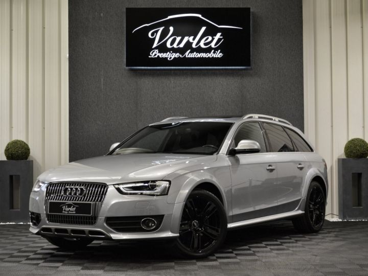 Audi A4 Allroad Superbe 2.0 tdi 190ch quattro stronic full options acc b&o 19 camera attelage to... GRIS ARGENT - 3